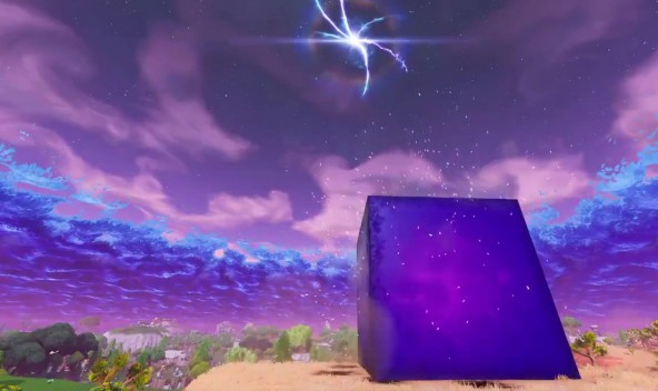 The mysterious cube is no more!
