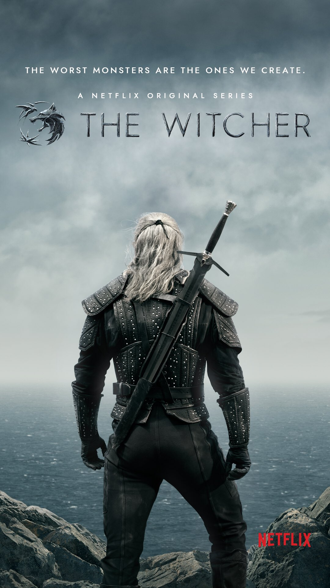 ᐈ Netflix share The Witcher poster and a few character images ...