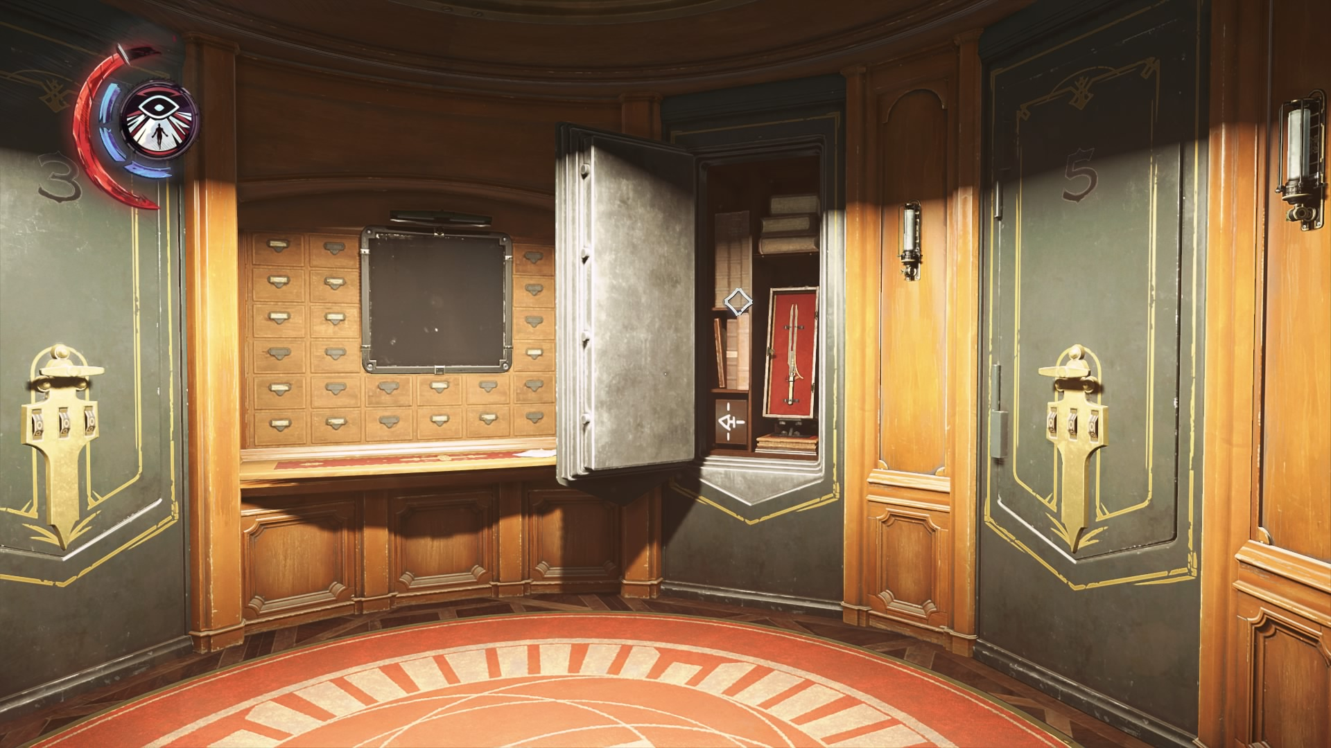 dishonored safe combinations list